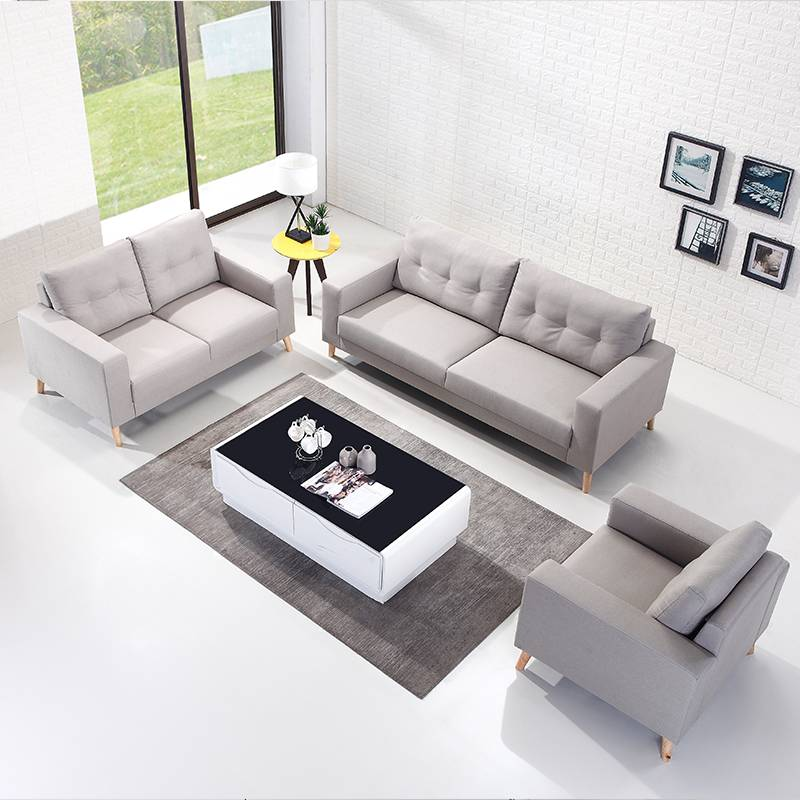 Hot selling fabric sofa bed from  wooden sofa set B1023#