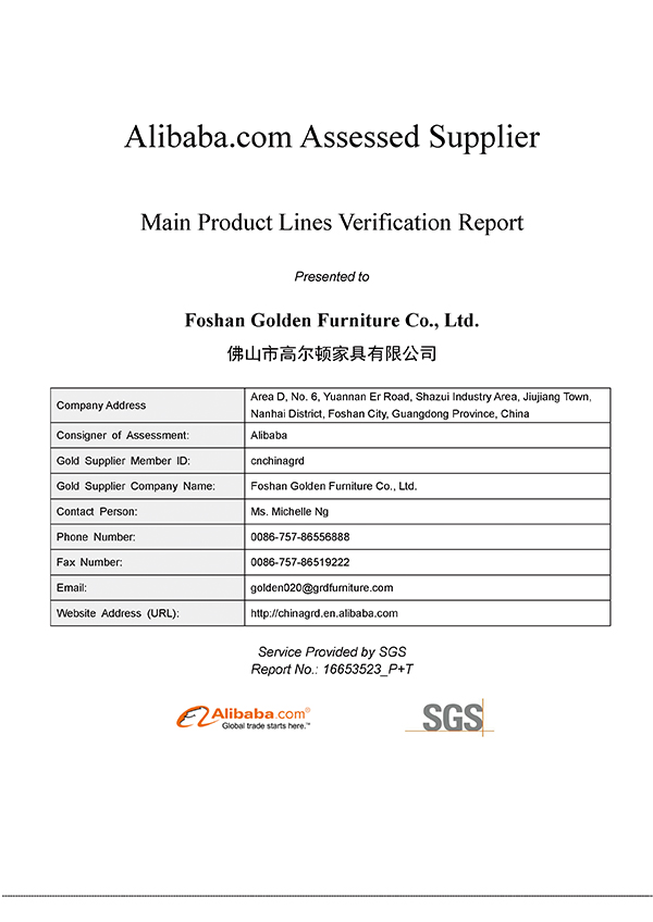 2017-7 Our company get the SGS Certification Report