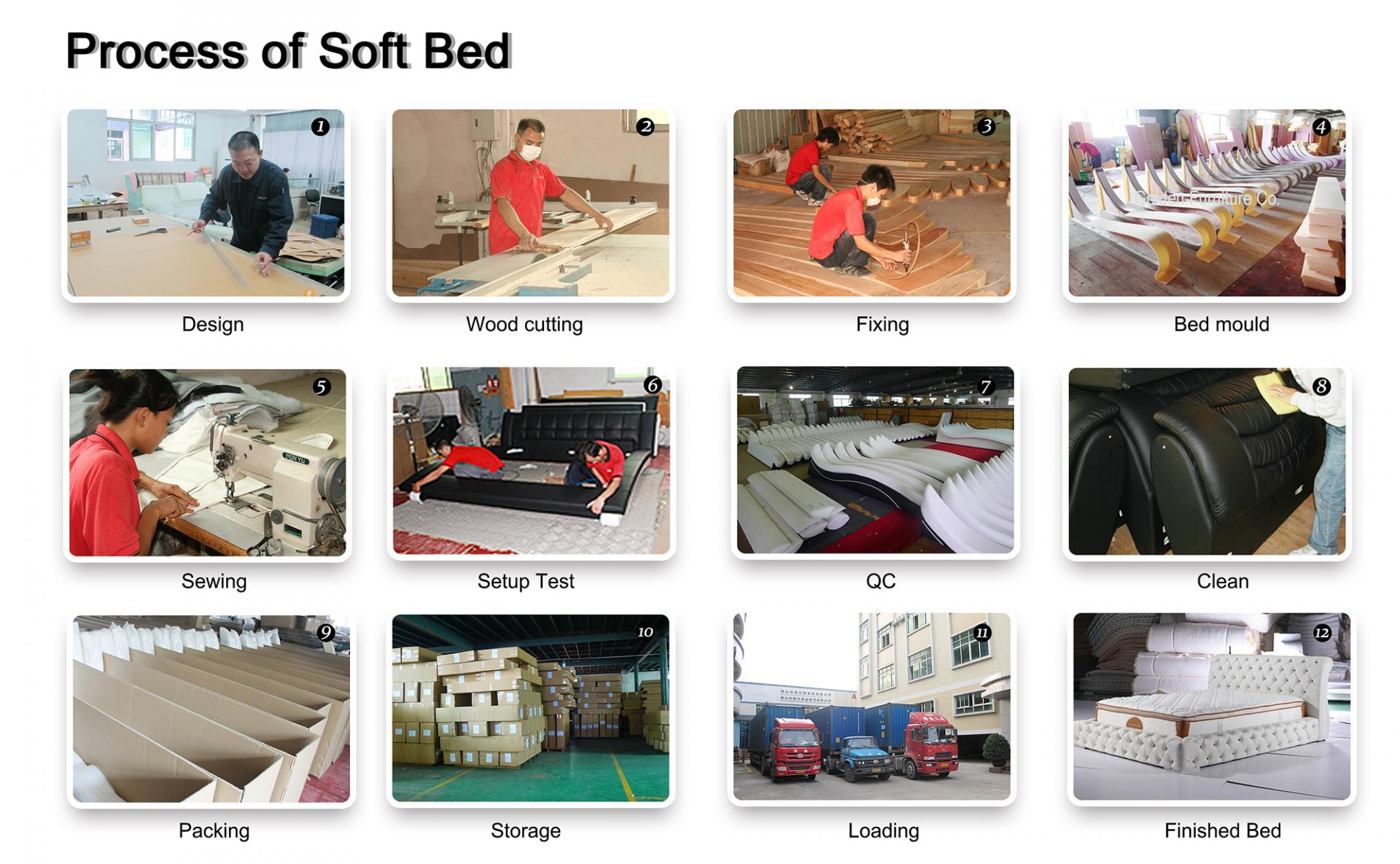 gas lift bed wholesale