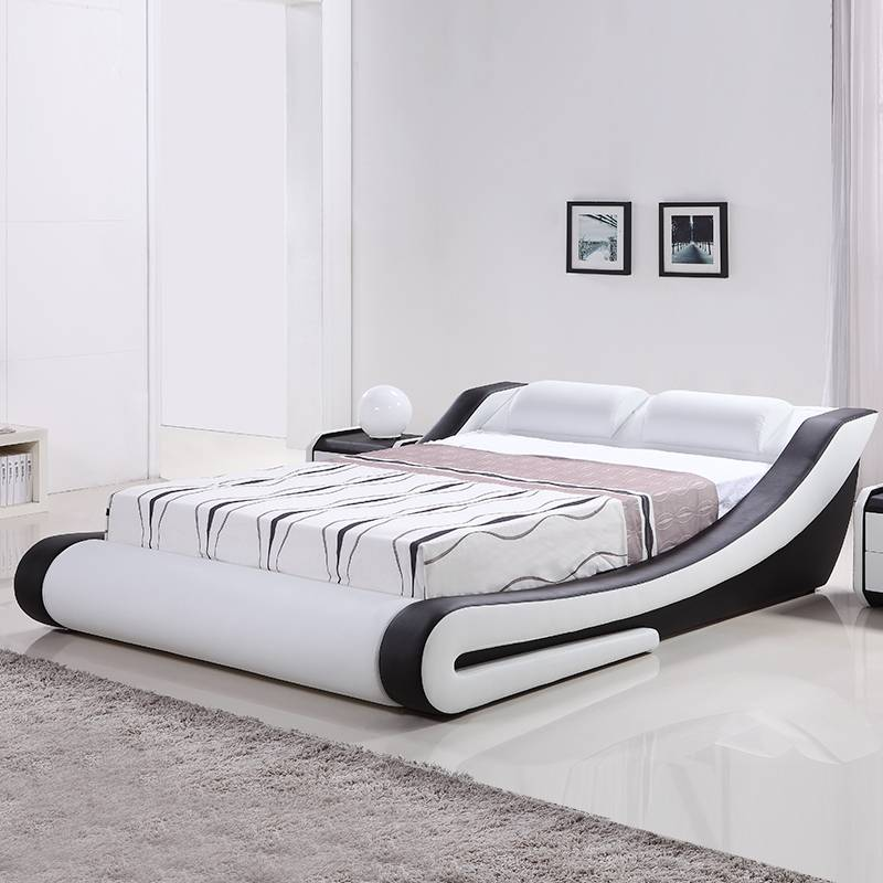 Alibaba modern wooden beds cheap price for sale G996#