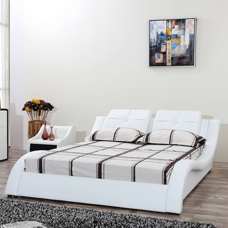 Fashion soft leather bed G1191#