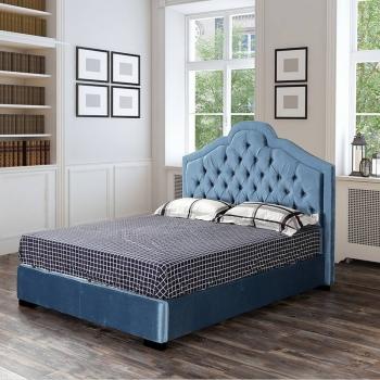 Aristocratic retro fabric cover bed G1507#