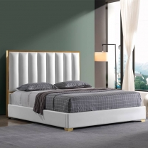 Metal frame modern double bed G1880#
