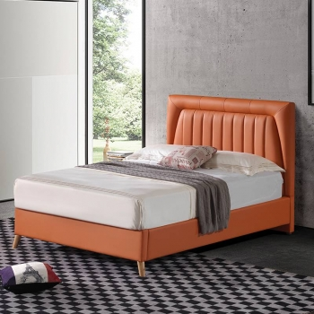 Colorful and personality style leather bed G1890#