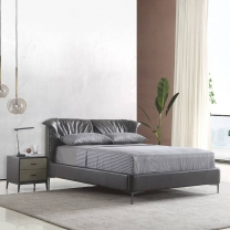 Fashion all-match leather soft bed 170#