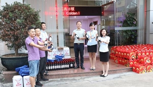 2020-9 Foshan Golden Furniture organized a Double Festival party