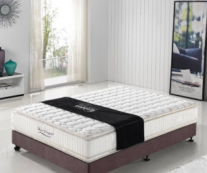 Gel memory foam vacuum packing mattress pocket spring 8314#