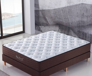 Bedroom furniture pocket spring mattress 8320#