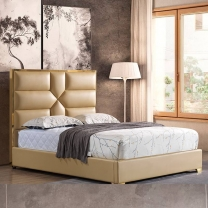 Metal frame modern double bed G1885#