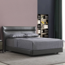 Fashion cool leather soft bed 173#