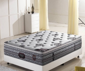 Silver grey mattresses with high-end knitted fabrics ML2014-4#