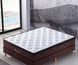 Latest designs hotel mattress 6802-2#-A